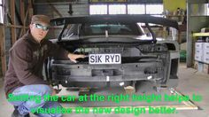 How to clay design & fabricate concept body panels from scratch - The re...