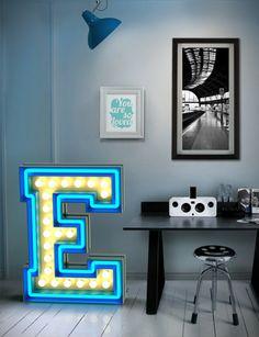 lampe design graphique, Delightfull