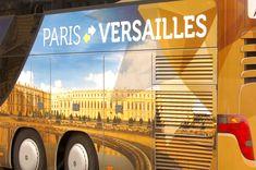 Rejoignez le château de Versailles au départ de la tour Eiffel !