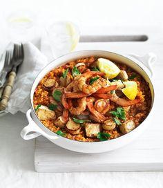... dishes paella recipe paella ilovepaella hungry group summer seafood