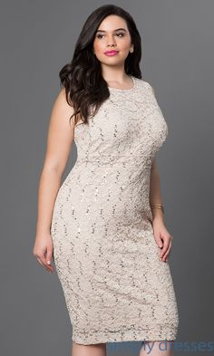 Lace sequined midi dress
