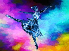 Dancing on the Clouds by Abstract Angel Artist Stephen K Alien Artist, Real Genius, Digital Art, Angel, Clouds, Wall Art, Abstract, Artwork, Summary