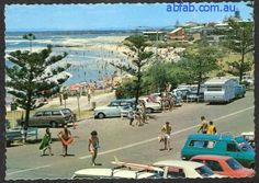 Caloundra Sunshine State, Sunshine Coast, Brisbane, Melbourne, Holden Australia, Beach Scenes, Gold Coast, Old Photos, 1970s
