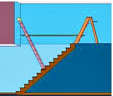 How To Easily Paint A Stairwell - Painting Above Stairs Easily And Safely