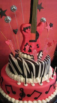 16 Best Rockstar Cake Images