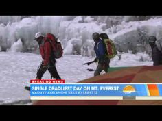 18April At Least 13 Sherpas Dead as Avalanche Sweeps Mount Everest