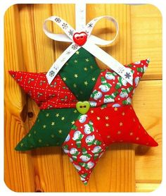 Scrappy Star Patchwork Pattern