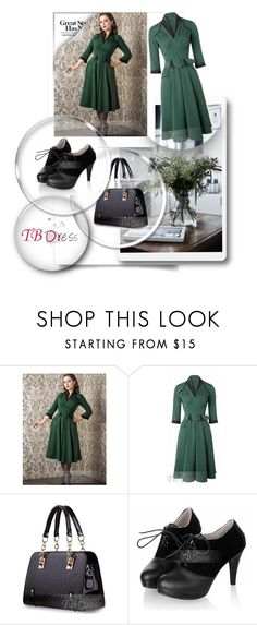 """""""TB Dress 42/45"""" by melisa-hasic ❤ liked on Polyvore featuring dress, clothes, women and tbdress"""