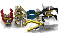 Lego EV3 Expansível Grabbers (dluders) Tags: lego claw mindstorms motorizado agarrador fll ldd agarrador wro lxf ev3