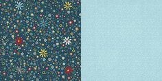 Carolee's Creations - Adornit - Wild Flower Collection - 12 x 12 Double Sided Paper - Tiny Daisy at Scrapbook.com $0.99