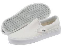 Vans Classic Slip-On™ Core Classics True White (Canvas) #classic #original #wear #vans