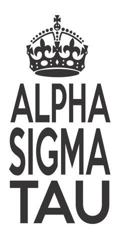 Alpha Sigma Tau Sorority Crown Keep Calm Sticker Window Laptop Car Decal Vinyl Ipad Iphone on Etsy, $2.99