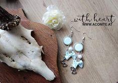 www.aconite.at Drop Earrings, Jewelry, Fashion, Moda, Jewlery, Jewerly, Fashion Styles, Schmuck, Drop Earring