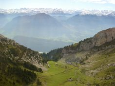 Rail and Foot ways to the Top, Pilatus