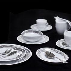 Afrodite - Porcel Silver, Porcelain, Made in Portugal