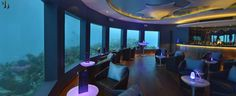 Subsix, the World's first underwater bar & club at Nimaya Maldives