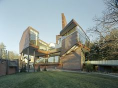 Lulu Chow Wang Campus Center and Davis Garage at Wellesley College by Mack Scogin Merrill Elam Architects