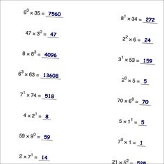 These Number Pattern Problems Are Typical Of What You See On Many