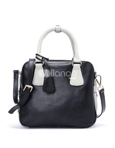 Western Style Black Cow Leather Unspecified Zip Closure Womens Tote Bag. See More Tote Bags at http://www.ourgreatshop.com/Tote-Bags-C775.aspx