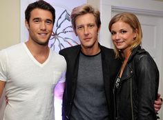Emily VanCamp, Josh Bowman and Gabriel Mann.....Cast Spills Secrets About Season Two