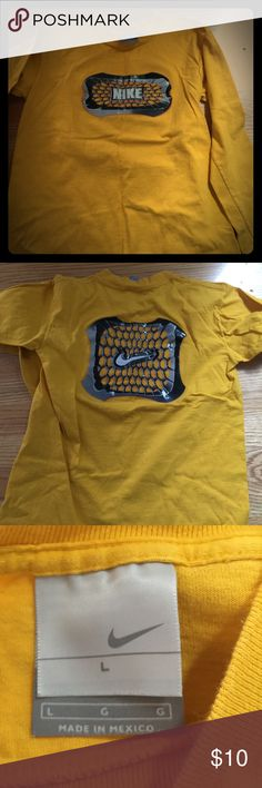 Nike long sleeve tee Boys. Yellow great condition Shirts & Tops Tees - Long Sleeve