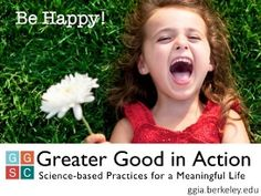 Greater Good in Action, an exciting new online resource is now live, offering dozens of science-based exercises to boost personal well-being. Science Of Happiness, Greater Good, Meaningful Life, Press Release, News Online, How To Become, Action, Wellness, Exercise