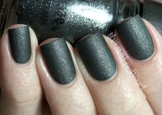 China Glaze — Stone Cold (The Hunger Games Capitol Colors Collection | Spring 2012)