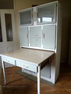 Antiques Atlas - Kitchen Larder Cabinet 1950s