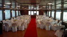 navire restaurant récent pour 265 invités
