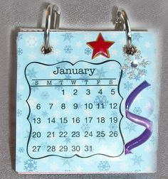 Calendar with Rings, $5