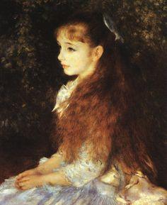 Irene Cahen d'Anvers, Renoir, 1879