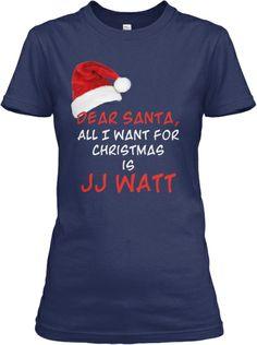 Women's JJ Watt Christmas Shirt | Teespring