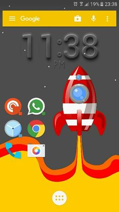 Weekend space with Action Launcher 3
