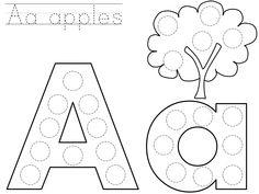 Alphabet Dot Coloring Pages Elegant Bingo Dauber Abcs General Education Alphabet Bingo, Alphabet Crafts, Alphabet Worksheets, Coloring Worksheets, Printable Worksheets, Printables, Letter Crafts, Printable Coloring, Free Printable