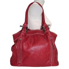 #Large #Charm Hobo #Handbag   roomy, soft purse, not rigid - gorgeous in red!   http://amzn.to/HsQcmF