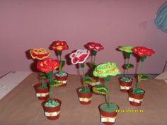 mis flores para el dia de la madre :)