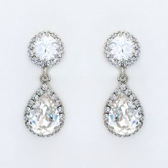 Check out the deal on Classic Crystal Teardrop Earrings at Perfect Details Wedding Earrings, Wedding Jewelry, Teardrop Earrings, Chandelier Earrings, Bridal Accessories, Stones And Crystals, Floral Arrangements, Sparkle, Classic