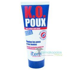 Item K.O Poux, 100 ml - oFarmakopoiosMou. Quality Time, Creme, The 100, Personal Care, Head Lice Nits, Self Care, Personal Hygiene