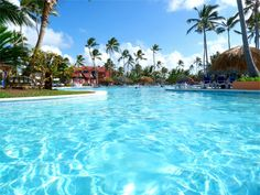 ... of hotel pool at the Punta Cana Princess in Bavaro, Dominican Republic