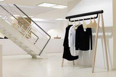 Torsten Neeland's Creates Wooden Framework For New Yohji Yamamoto Collection   Architecture