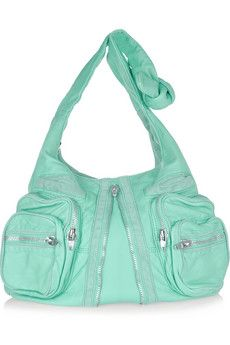 Alexander Wang 'Donna' Aqua Leather Shoulder Bag....this is clearly meant to be!