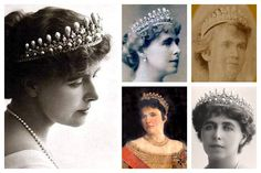 Pick Number - Pearl Tiara of Big Gun Variety. The Romanian Massin Tiara. This tiara was sent to Russia for safe keeping during the first world war, and hasn't been seen since. But for all the love Diana's Lovers Knot Tiara gets, I think this is prettier. Royal Tiaras, Tiaras And Crowns, Lovers Knot Tiara, Romanian Royal Family, Royal Jewelry, Jewellery, Royal Blood, Circlet, Royal Weddings