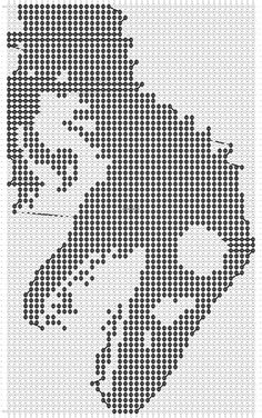 Alpha friendship bracelet pattern added by ElissasBtq. jurassic park t-rex dino dinosaur. Alpha Patterns, Loom Patterns, Cross Stitch Patterns, Sewing Patterns, Tapestry Crochet Patterns, Crochet Patterns Amigurumi, Simple Cross Stitch, Beaded Cross Stitch, Printable Graph Paper