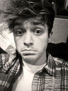 Connor with stubble ....