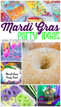 Mardi Gras Party Ideas {Merry Monday Link Party # - Let& Go & # s - Mard . Mardi Gras Party Ideas {Happy Monday Link Party # – C & # mon Get Crafty – Carnival Pa Mardi Gras Food, Mardi Gras Beads, Mardi Gras Party, Mardi Gras Centerpieces, Mardi Gras Decorations, Mardi Gras Activities, Mardi Gras Outlet, Mardi Gras Costumes, Selling Handmade Items