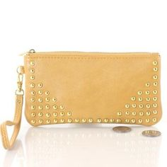 Studded Coin Purse (Yellow) Bag Girls. $9.95