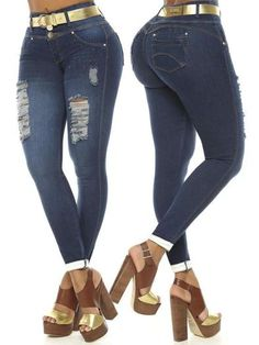 'Marcie' Butt Lift Levanta Cola Ankle Jean ZG6101 – Colombiana Boutique Skinny Fit, Skinny Jeans, Lower Abdomen, Boutique Stores, Best Jeans, Small Waist, Ankle Jeans, Stretchy Material, Colombia
