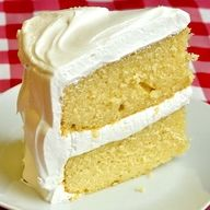 The Best Vanilla Cake - evaporated milk is the key to this best vanilla cake.