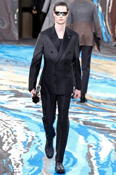 Louis Vuitton Fall 2014 Menswear Collection Slideshow on Style.com
