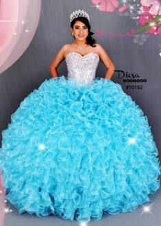 3d30b6a8ded Princess Quinceanera Dress  10192JES
